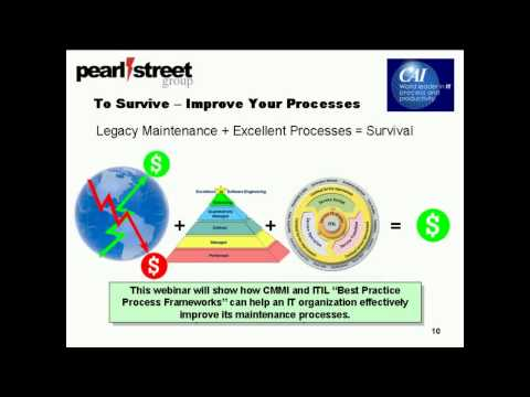 Maintain Your Success By Using the Best: Using CMMI & ITIL to Become Excellent