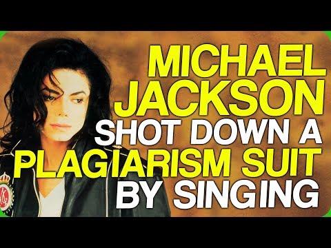 Michael Jackson Shot Down a Plagiarism Suit by Singing