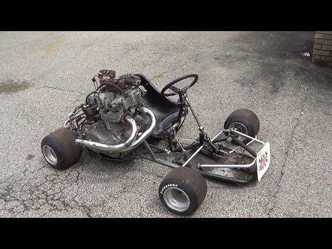 Home Made 500cc Shifter Kart Part 4