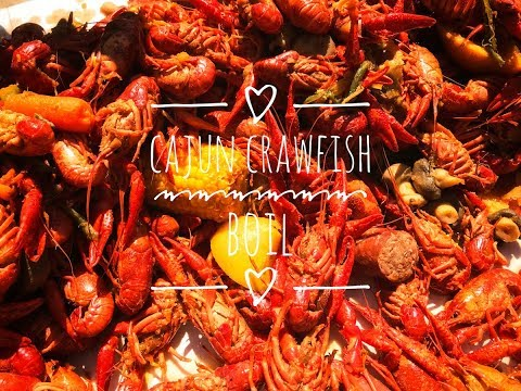 How To Boil Crawfish Louisiana Style ~ 2018 Annual Crawfish Boil