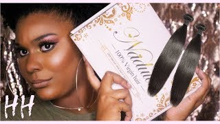 NADULA HAIR || PERUVIAN STRAIGHT || UNBOXING/INITIAL REVIEW