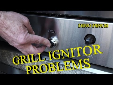 FIX IGNITOR BUTTON ON GAS GRILLE