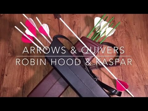 (5) Prop Bows & Arrows