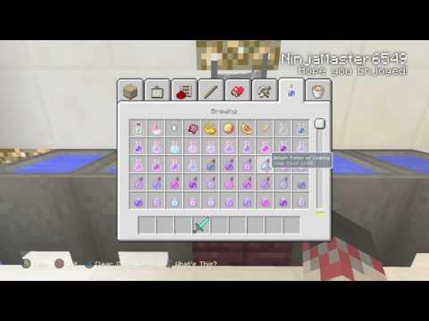 Minecraft Xbox One: How to make a Splash Potion of Poison