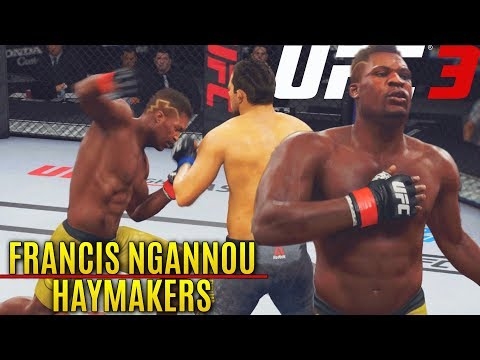 Post Patch FRANCIS NGANNOU Throwing Haymaker Knock Outs! EA Sports UFC 3 Online Gameplay