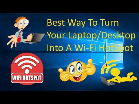 A Simple Way To Turn Windows 10 PC Into Wi-Fi HOTSPOT