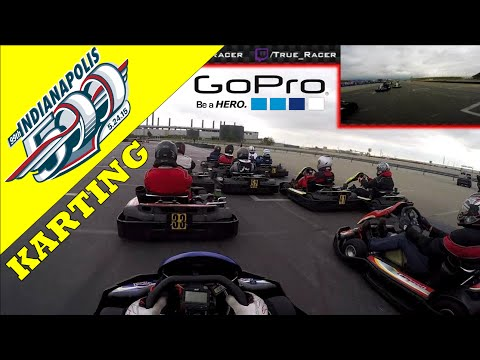 Indy 500 with Karts (GoPro Hero 4 Full Race 60fps)