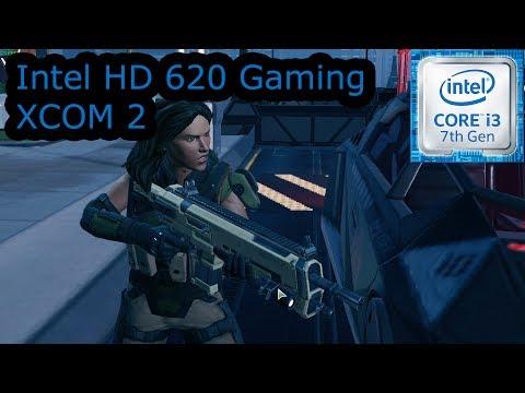 Intel HD 620 Gaming - XCOM 2 - i3-7100U, i5-7200U, i7-7500U, Kaby Lake
