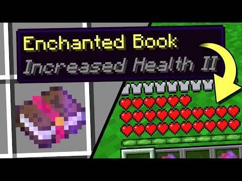 8 NEW Minecraft Enchanted Books!