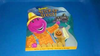 """Barney's Trick or Treat"" read-aloud Children book"