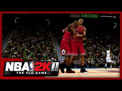 NBA 2K11: The Flu Game