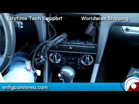 How-To:  Audi A3 2009-2012 RNS-E Navigation iPod iPhone AUX adapter Dension GW17AC1