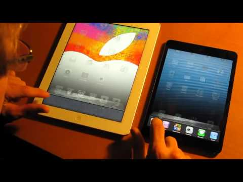 iPad Mini Vs. iPad 3 (Speed Test)