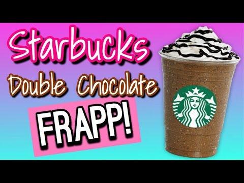 Starbucks Double Chocolate Chip Frappuccino Recipe!