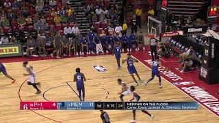 1st Quarter, One Box Video: Memphis Grizzlies vs. Philadelphia 76ers