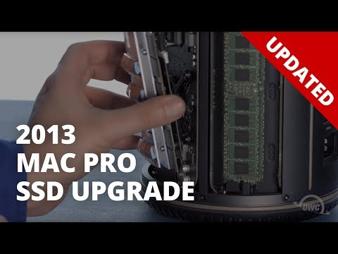 How to Upgrade the SSD in a 2013 Mac Pro - UPDATED