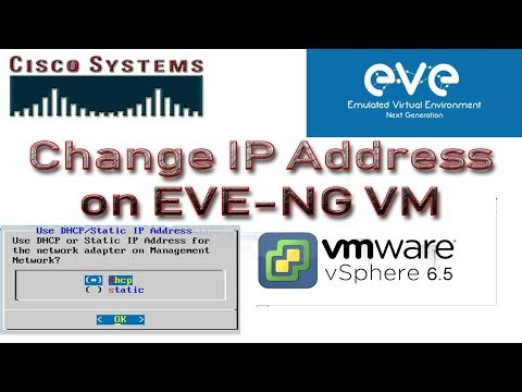 EVE-NG : How to change/configure ip address on EVE-NG or UNetLab latest | EVE-NG Ubuntu ip address