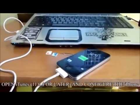 How to Unlock iPhone 4 4S with iTunes - Factory Unlock iOS 7.1.2 Without Jailbreak All Basebands