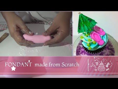 Simple Fondant recipe from Scratch- Episode 576