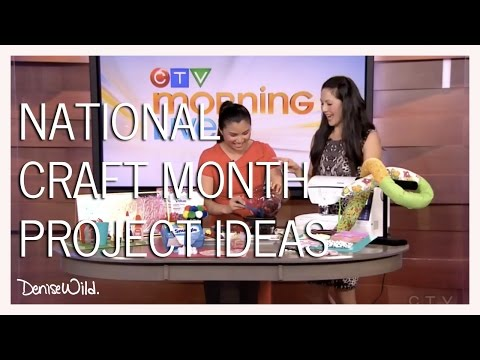 Family Friendly Crafts For Kids (Morning Live)