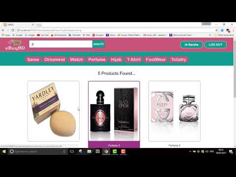PHP MySQLi Javascript Ecommerce Full Project With Source Code