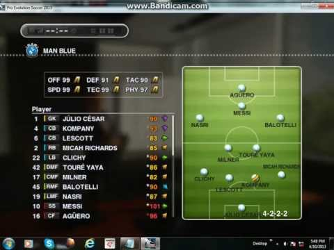 How To Get Star Players Cheap And Easy In Master League PES 2013