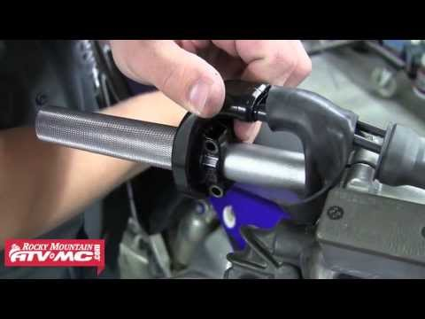 How to install the Tusk Aluminum Throttle Tube