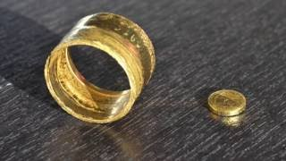 Making A Gold Coin Ring