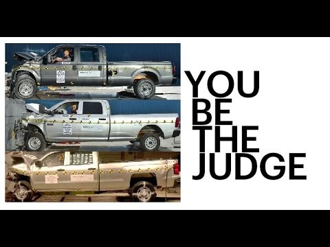 Ford Super Duty Frame vs GM and RAM frame.