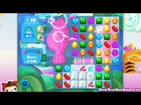 Candy Crush Soda Saga Level 235 NEW 1 Bear