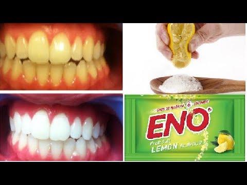 ENO से दांतो को चमकाने का अचूक घरेलु नुस्खा | Teeth Whitening with ENO | White Teeth