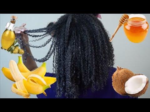 DIY Honey Banana Deep Conditioner   Moisturizing and Strengthening