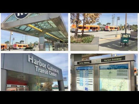- Harbor Gateway Transit Center, (METRO Bus Station)