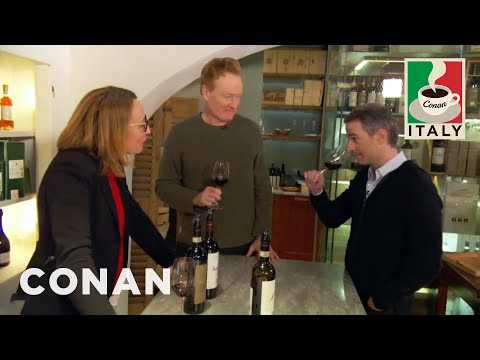 Outtakes From Conan & Jordan's Wine Tasting  - CONAN on TBS