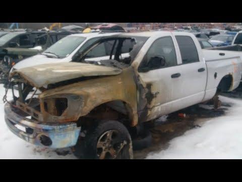 2007 DODGE RAM ENGINE FIRE