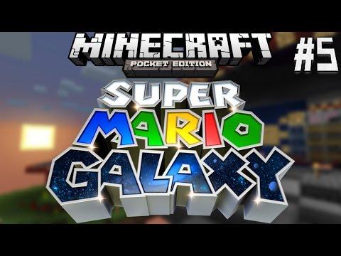 Super Mario Galaxy- MCPE Adventure Map! Episode 5