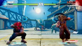 Download Street Fighter V MooMooCat (Akuma) VS. Corrupted1Smurf (Akuma) Video