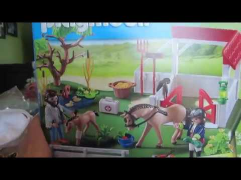 Playmobil Country Paddock de chevaux