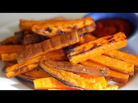 Baked Sweet Potato Fries: Clean Eating Recipe