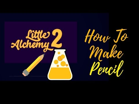 Little Alchemy 2-How To Make Pencil Cheats & Hints