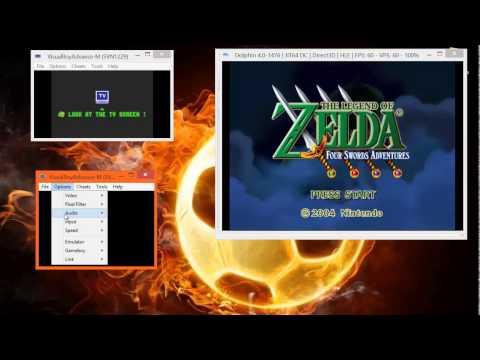 Dolphin and VBA-M | Joybus | LoZ: 4 Swords tutorial PT: 1