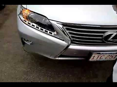 Loaner Car Damage Video