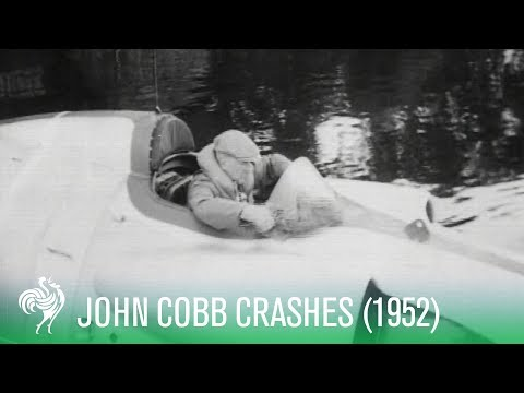 John Cobb Dies in Gallant Attempt on World Water Speed Record