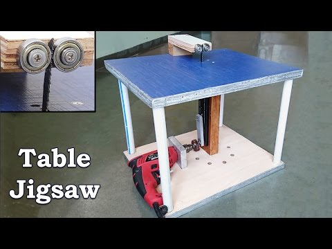 How to Make a Table Jigsaw at Home
