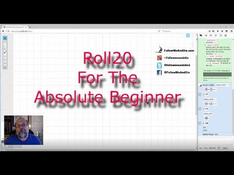 Roll20 For The Absolute Beginner No  3 - The GM  Building Basic Character Sheets