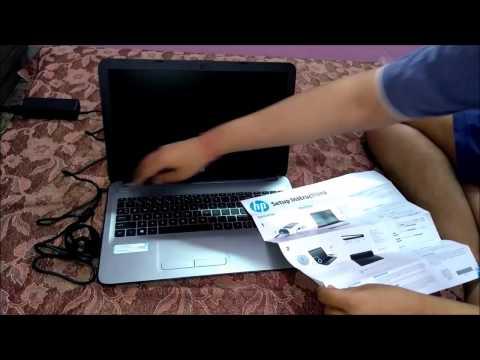 HP Laptop 15 ay554tu Unboxing
