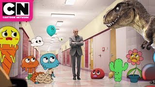 Superintendent Evil Pays a Visit | The Amazing World of Gumball | Cartoon Network