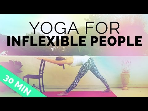 Yoga for Inflexible People | Yoga Sequence for Stiff Muscles, Aches & Pains |  30-min Yoga Session