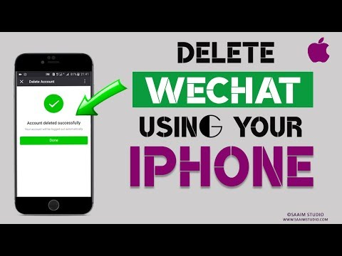 How to Delete WeChat Account using Your iPhone?