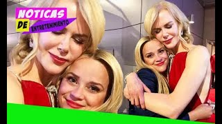 [Entertainment News]   Reese Witherspoon weeps as she hugs co-star Nicole Kidman